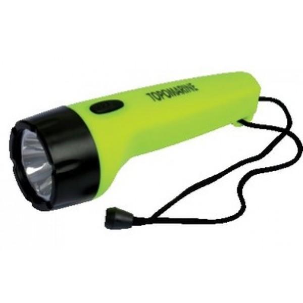 Linterna Topomarine LED Estanca y Flotante - Flotantey estancanormaIPX7 (Inmersión a 1 metro durante30 minutos). Un LED con un rendimientode 50 lúmenes, Alcancede 20 metros.