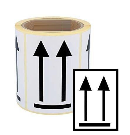Etiqueta de Flechas orientación cargas