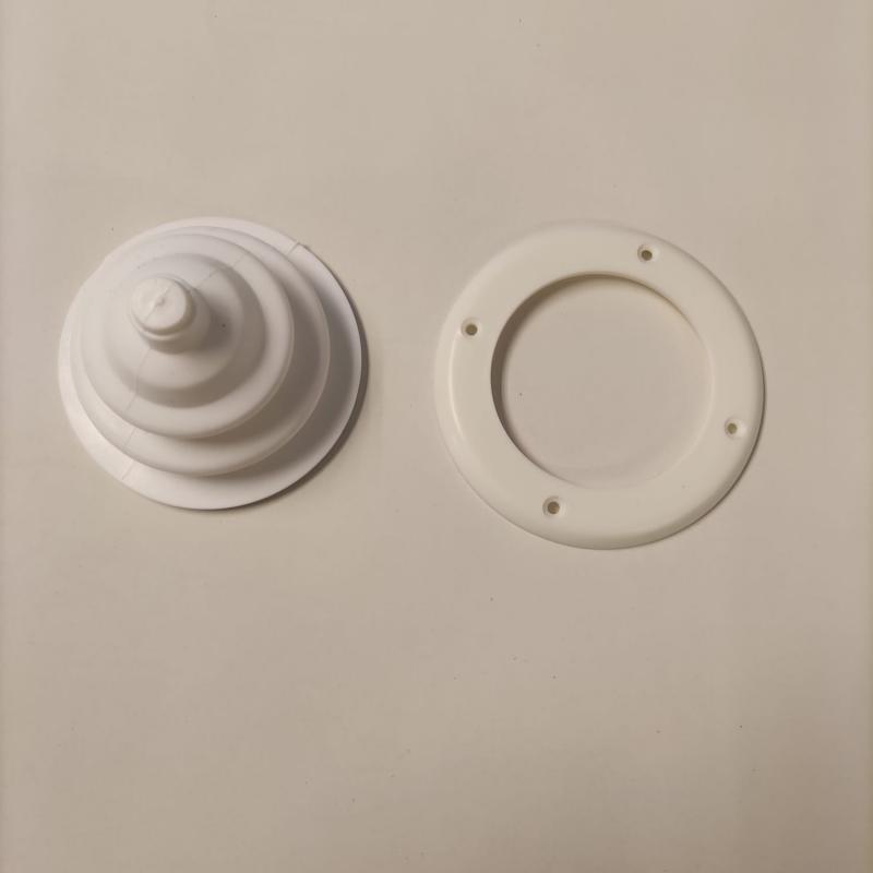 Pasacables plástico flexible diámetro base 100 mm