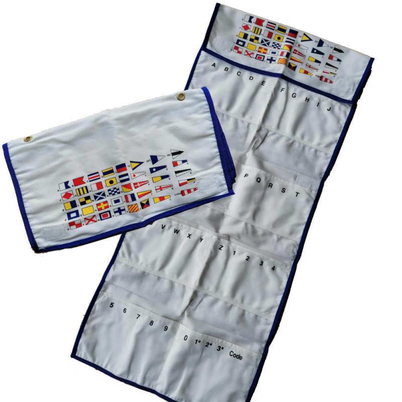Funda para guardar las Banderas del Código Internacional de Señales