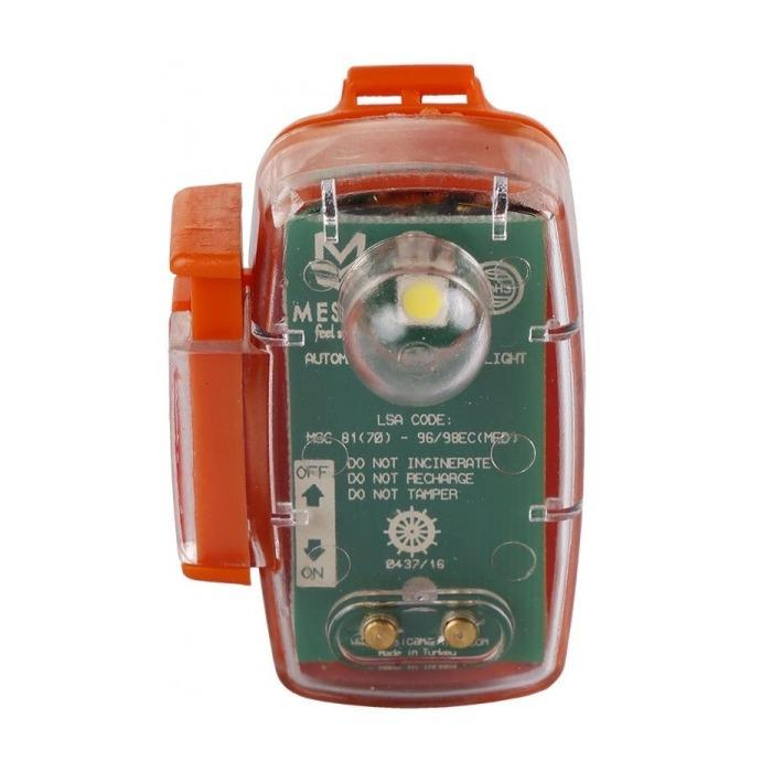 Luz LED manual GRD-007 para chaleco salvavidas