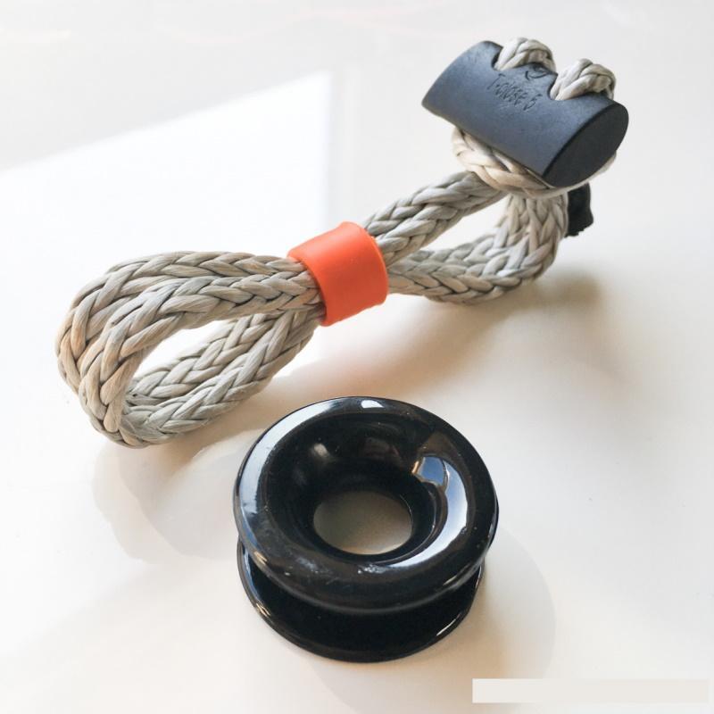 Grillete Textil T-Close K Multi-uso gaza ajustable Nodus Factory