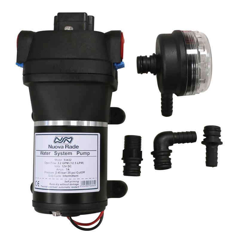 Grupo de Agua Nuova Rade 12V - 12,5L/min
