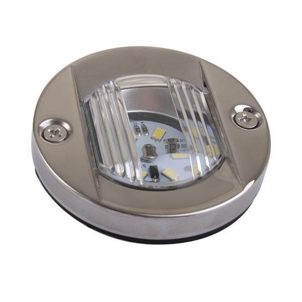 Luz LED de Poparedonda Inox, para embarcaciones menores de 12 m.