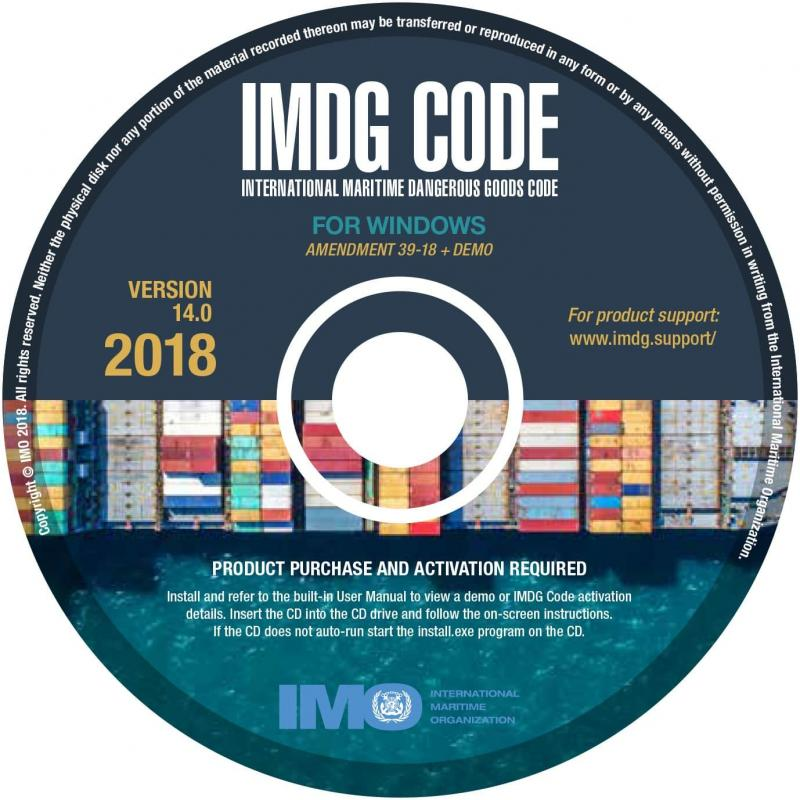 International Maritime Dangerous Goods Code IMDG for Windows. Para 1 Usuario