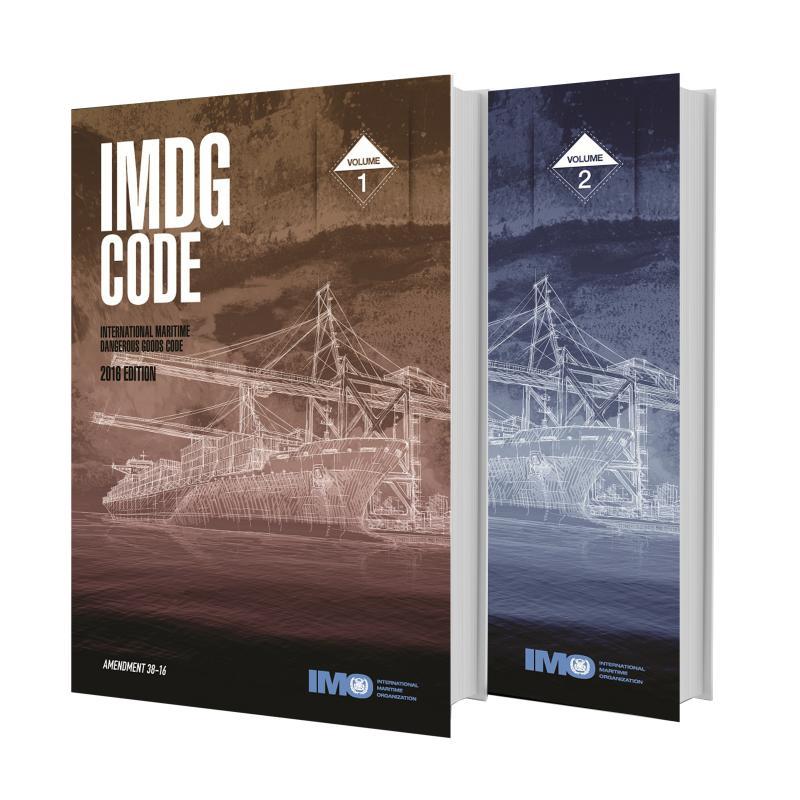 Código IMDG 2016 Edición en Español 2 Volumenes c/Enmienda 38-16 - Código IMDG, 2016, edición española, enmienda 38-16 (2 volúmenes)