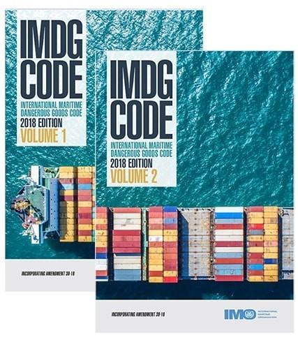 Código IMDG 2018 Edición en Español 2 Volumenes c/Enmienda 39-18 - Código Marítimo Internacional de Mercancías Peligrosas – IMDG. Edición Refundida de 2018– Incluye Enmienda 39-18. En vigor: 1 Enero 2020 a 31 Diciembre 2021, Voluntario: 1 Enero 2019