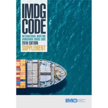 Suplemento IMDG 2018 - Español - Incluye detalles de los procedimientos para el embalaje de mercancías peligrosas ni las acciones a tomar en caso de emergencia o accidente que involucre al personal que maneja mercancías en el mar.