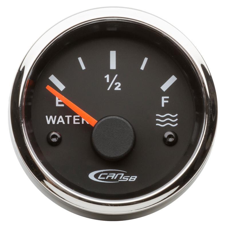 Indicador nivel de agua negro 10-180 Ohm 12 V