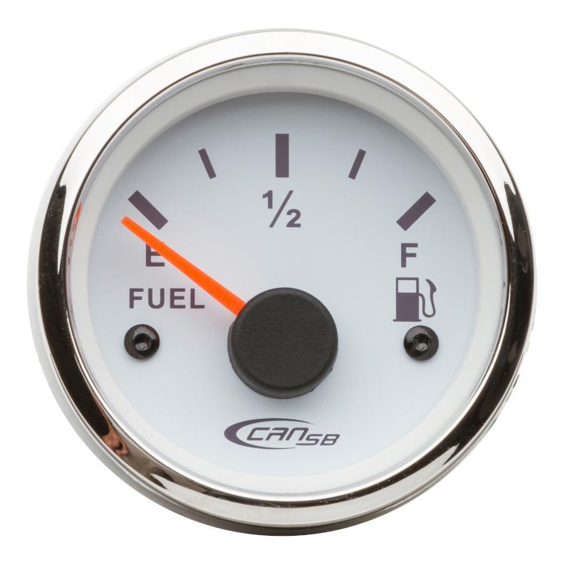 Indicador nivel de Combustible blanco 10-180 Ohm 12 V