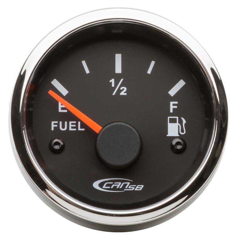 Indicador nivel de Combustible negro 10-180 Ohm 12 V