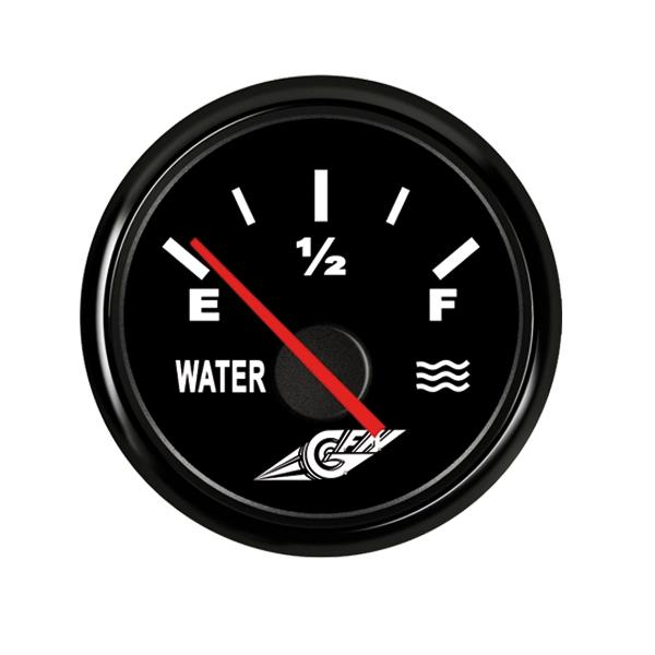 Indicador nivel de agua negro 0-180 Ohm 12 V