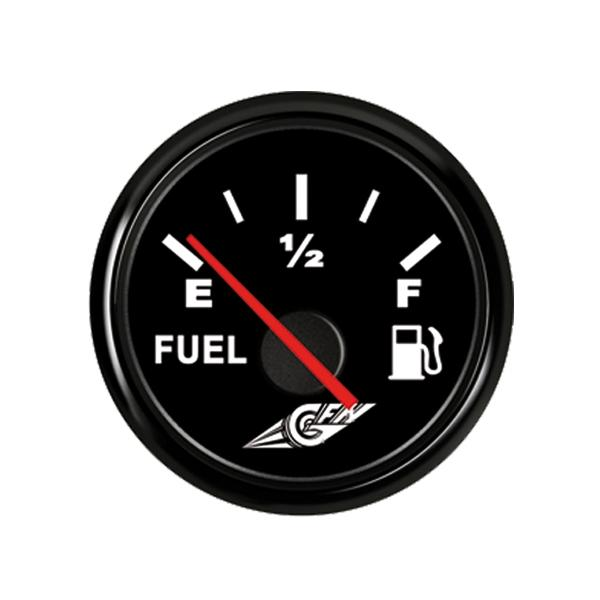 IndicadorNivelde combustible de 0-190 Ohm 12 V Negro