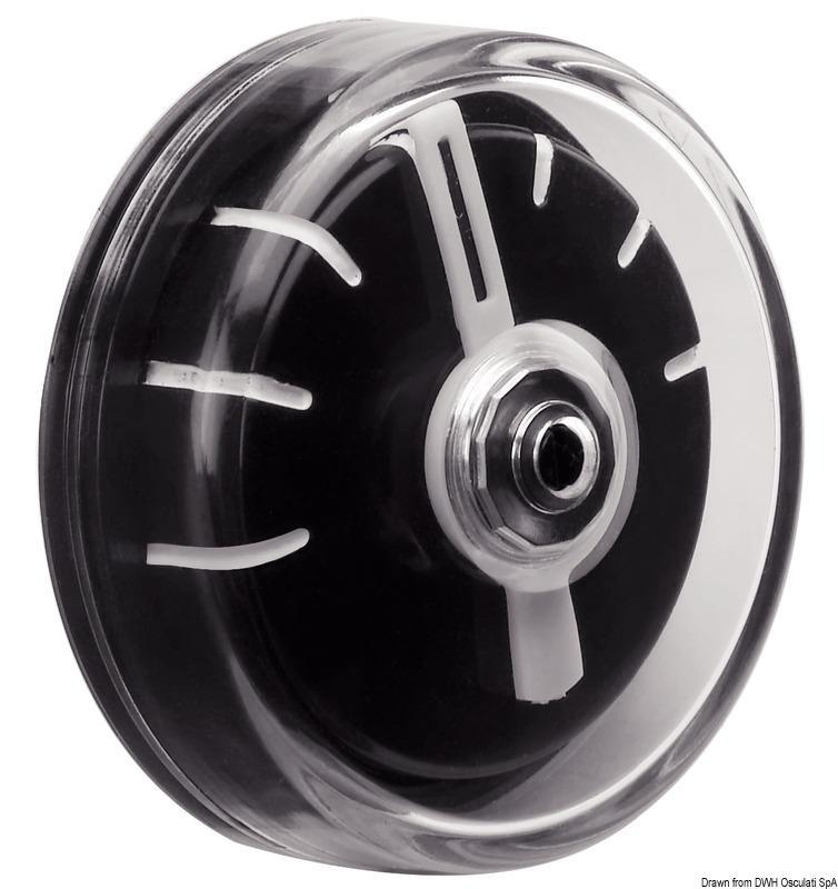Indicador de Angulo del Timon Seaworld - Permite conocer con claridad y en todo momento el ángulo de posición del timón, lo que incrementa la seguridad a la hora de realizar maniobras complejas...
