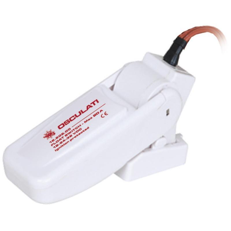 Interruptor automatico tipo flotador, Osculati 20A,  12/24V