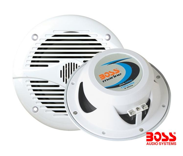 Juego 2 Altavoces Marinos 150W Boss MR50W - 5,25