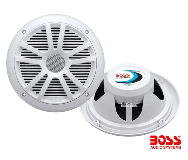 Juego 2 Altavoces Marinos 180W Boss MR6W - 6,5