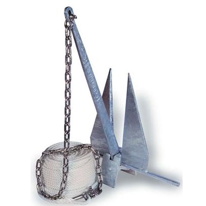 Kit de Fondeo completo para Embarcaciones hasta 7,5 mts. de eslora