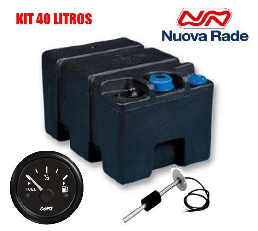 Kit Deposito de Combustible Ercole 40, con Aforador e Indicador de Nivel