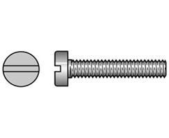 Tornillo Cabeza Cilindrica Inox AISI 316 DIN 84 Blister - Tornillo de acero inoxidable AISI 316 DIN 7982/ISO 7050 de alta calidad, Superficies acabadas y alta durabilidad. Se sirven en blister con cantidades según medida