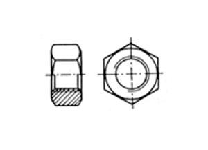 Tuerca Hexagonal Inox Aisi 316 DIN 934 Blister - Tuerca de acero inoxidable AISI 316 DIN 7982/ISO 7050 de alta calidad, Superficies acabadas y alta durabilidad. Se sirven en blister con cantidades según medida