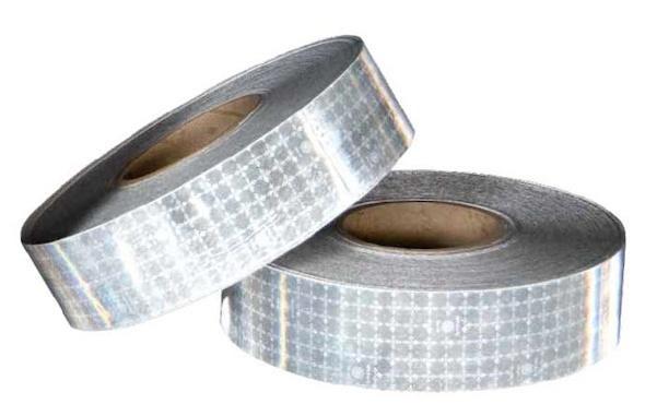 Cinta reflectante adhesiva SOLAS 50 mm x 1 m. - SOLAS Reflective Self Adhesive Tape. Homologado con aprobación SOLAS 0038/02. Servidapor metros