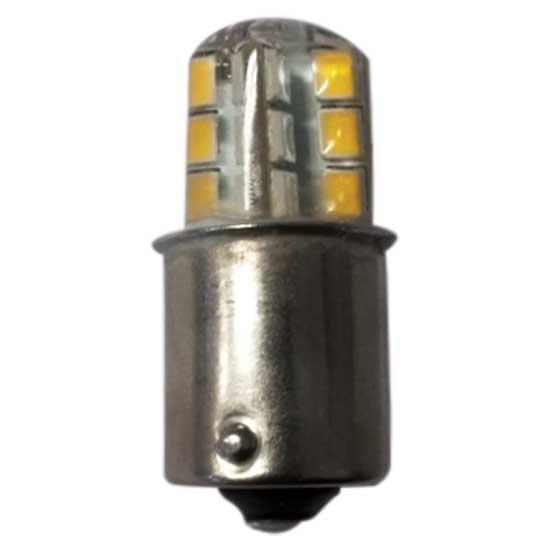 Bombilla Classic LED 12 BA15S - 12/24V - Bombilla 12/24V, LED - BA15S.   Para barcos de eslora inferior a 12m.   Servida por unidad