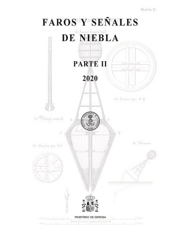 Libro de faros y señales de niebla Parte II España Mediterraneo