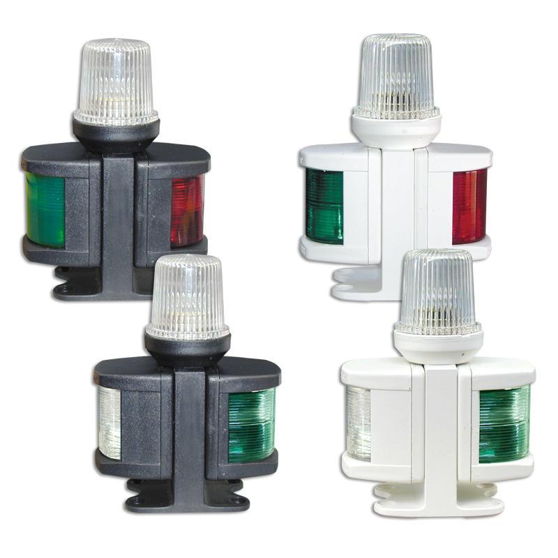 Luces Combinadas de navegacion ABS CLASSIC 12, para embarcaciones menores de 12 metros. 12V