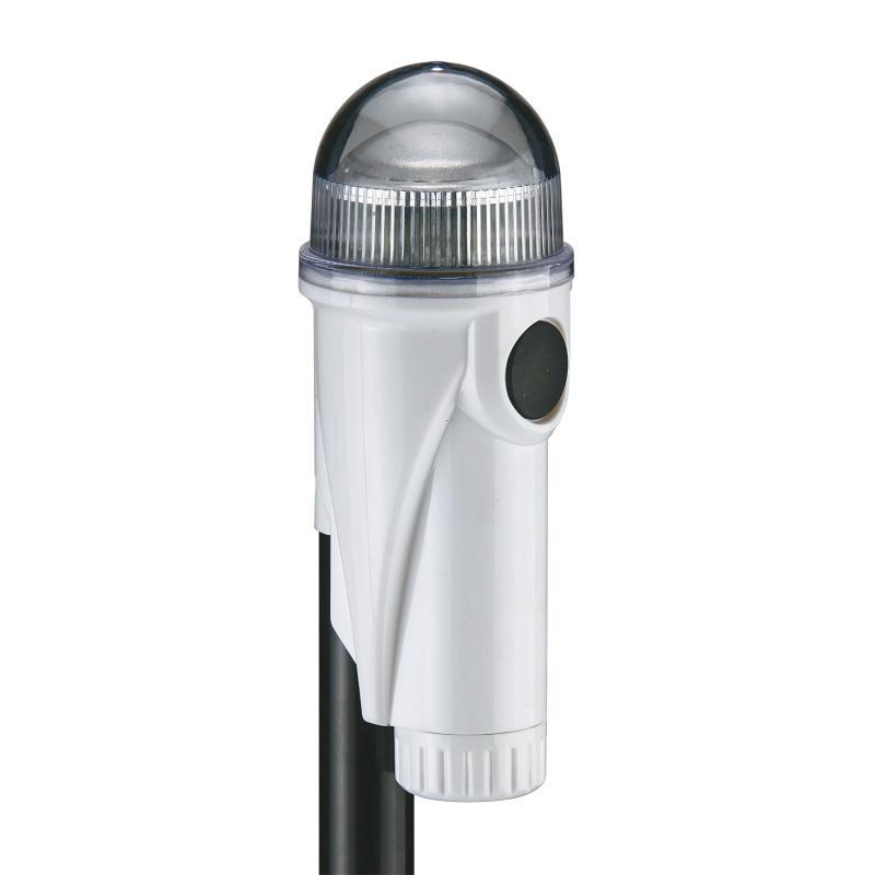 Luz de navegación led de 360 portatil con anclaje, 3 x