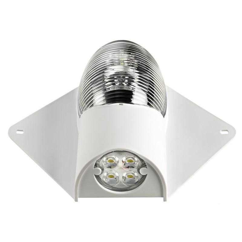 Luz LED de Tope y Cubierta 12/24 V Blanca