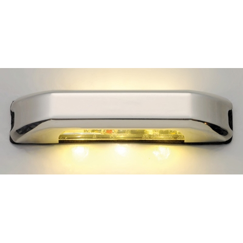Luz LED de Cortesia Inox IP67, Iluminacion Doble 12/24V