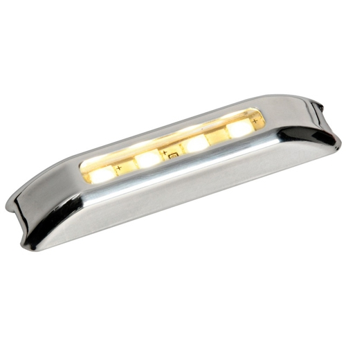 Luz LED de Cortesia Inox IP67, Iluminacion Frontal 12/24V