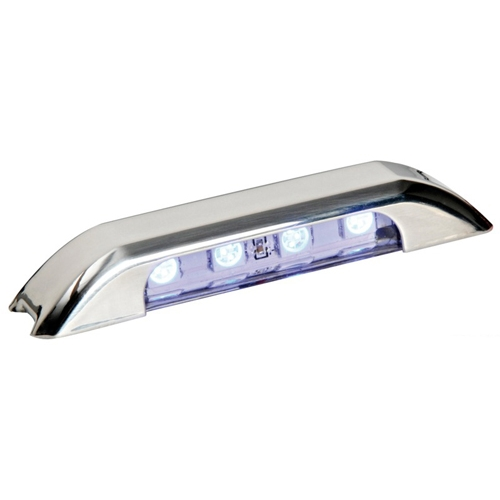 Luz LED de Cortesia Inox IP67, Iluminacion Lateral 12/24V