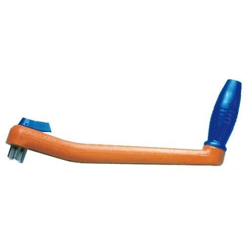 Manivela flotante para Winch - Manivela bi-direccional con seguro, se adapta a todas las grandes marcas de winch.   Largo 254 mm