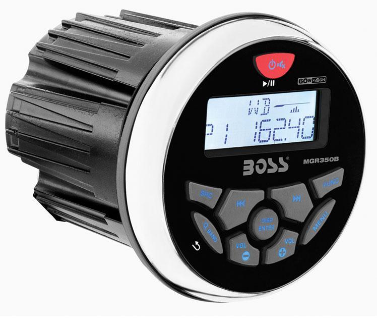 Radio/ Reproductor MP3 Estanco Boss MGR350B04