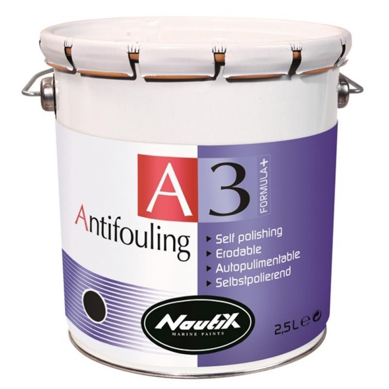 Nautix A3 Formula+, Antifouling autopulimentable alta calidad 2,5 L