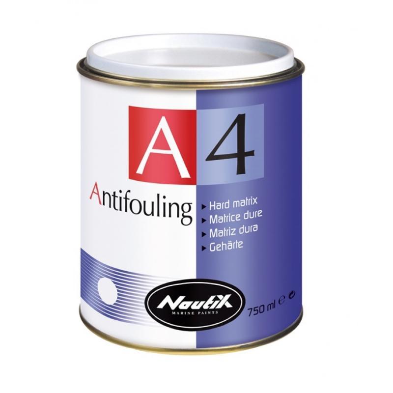 Nautix A4 Blanco, Antifouling de matriz dura de alto rendimiento - Matriz dura (Velero de crucero, Lancha de crucero, Lancha rapida, Barco de recreo y pesca)..   Nautix A4 : Anti-incrustante matriz dura alta calidad recomendado para lanchas y veleros