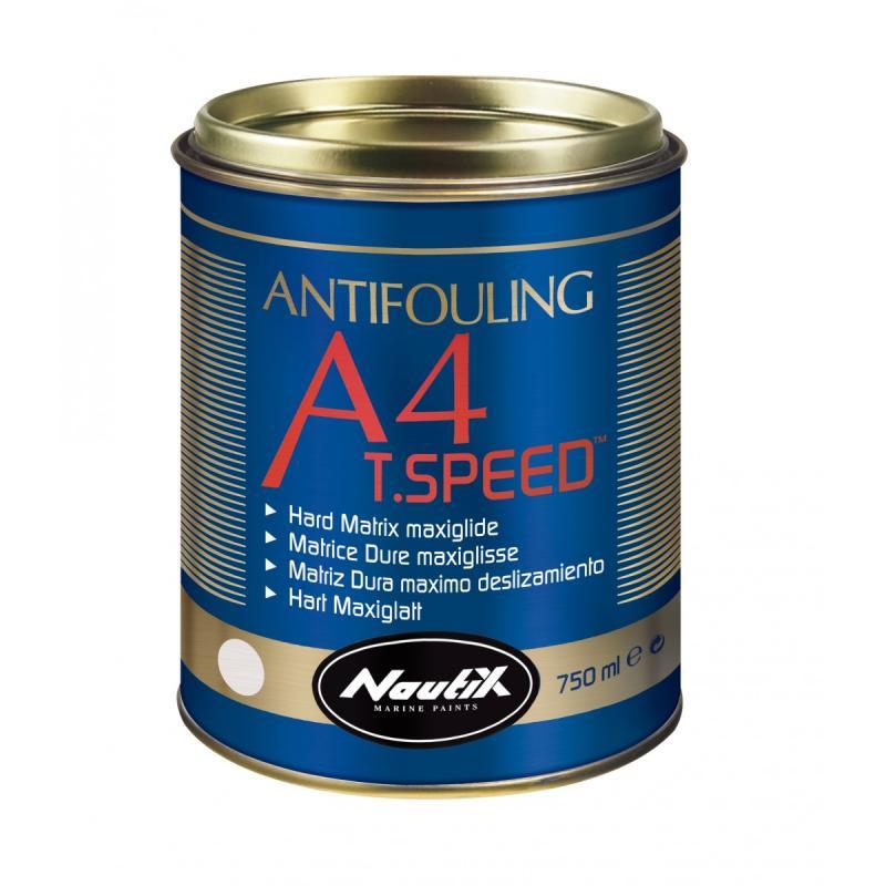 Nautix A4 T Speed Antifouling Matriz dura con Tspeed para lanchas y veleros de regata