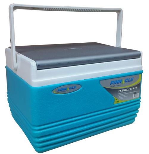 Nevera portátil Alta calidad Pinnacle 11 Litros Color Azul - Grosor Termico de 1.9 mm. Medidas Exteriores aprox: L 34  x  An 27 x Al 23 Cm