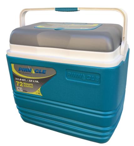 Nevera portátil Alta calidad Pinnacle 32 Litros Color Azul - Grosor Térmico de 4 CM. Medidas Exteriores aprox: L 46,5  x  An 29,5 x Al 44 cm