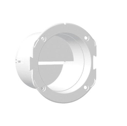 Soporte rejilla de ventilacion recto Nuova Rade - Manguito para salidas de 3 (70 mm). Fabricado en polipropileno para ofrecer una buena resistencia a los UV. Resistentes a los golpes, las tracciones y compatibles con la mayoría de las masillas ; son impermeables a los ácidos acéticos.