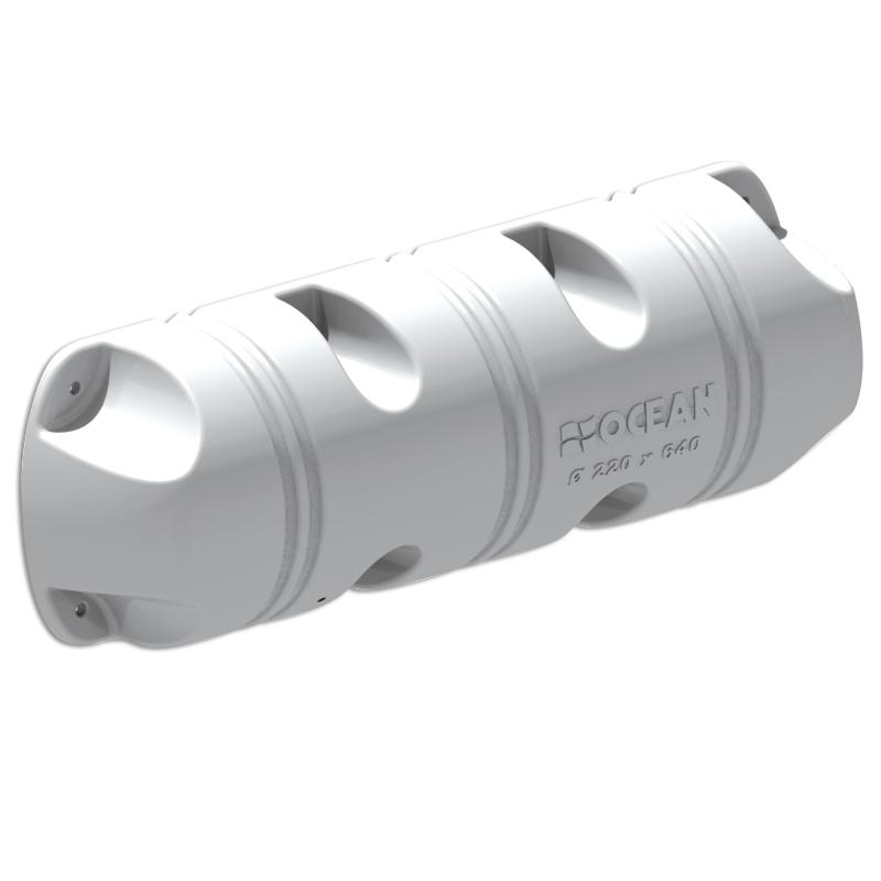 Defensa de pantalan Ocean tipo Bumper 1/2 - 220x640 mm
