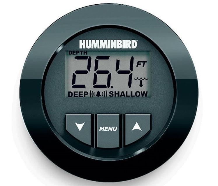 Profundimetro digital HUMMINBIRD HDR-650 con transductor de popa - Profundímetro digital empotrable, con un diámetro de 2 pulgadas (54 mm).