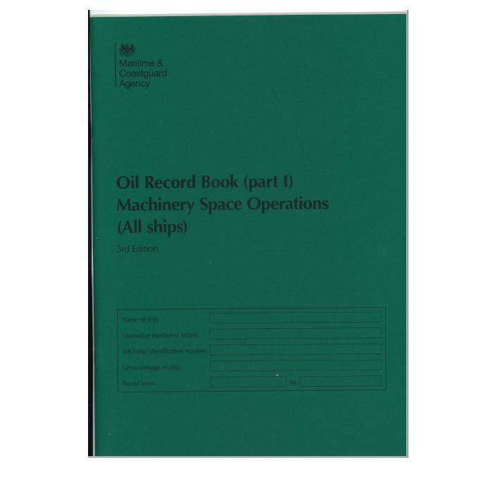 Oil Record Book - Part I