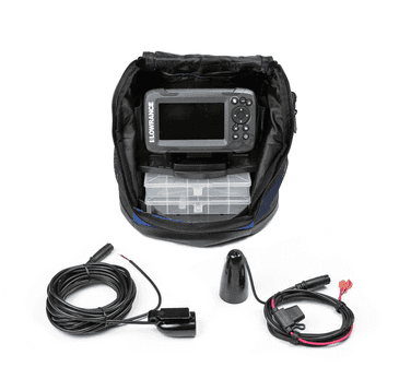 Pack Lowrance HOOK² 4x con transductor Bullet y plotter GPS CE