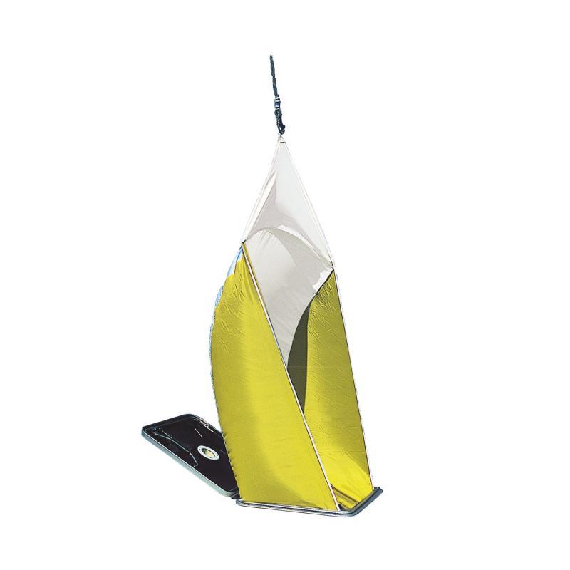 Aireador Textil de Cubierta Plastimo Estandard (Fantasma) - El manguerote de ventilación estándard de Plastimo proporciona una ventilación de la cabina óptima. Fabricado con un tejido de poliéster ultraligero, no se agita con el viento y evita cualquier silbido molesto y ruido de aleteo.