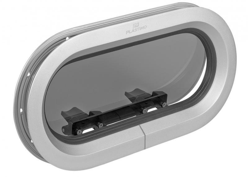 Portillo Plastimo de Aluminio Satinado