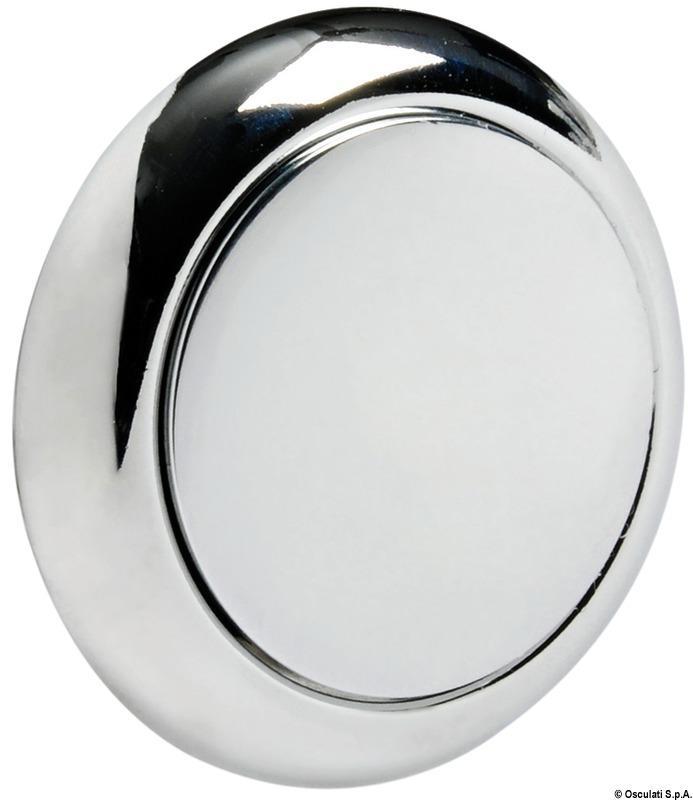 Pomo + anillo redondo para pulsador Osculati