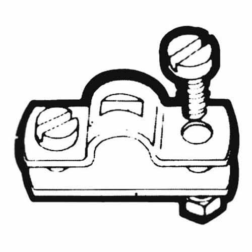 Abrazadera con Calzo Teleflex para Cable de Control - Abrazadera con calzo para cables de control 33-C, 3300 y Extreme